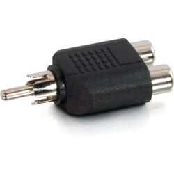 Cables To Go RCA Male to Dual RCA Female Adapter