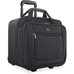 Solo Classic PT136-4 17.3-inch Laptop Black Rolling Case
