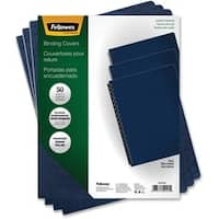 Fellowes Executive Presentation Covers - Oversize, Navy, 50 pack