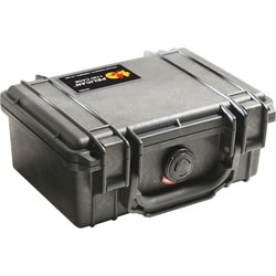Pelican PELICAN 1120 GUARD BOX BLACK W/ FOAM