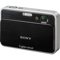 Sony Cyber Shot DSC-T2 8.1MP Black Digital Camera