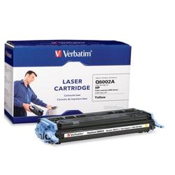 Verbatim HP Q6002A Compatible Yellow Toner (2600)