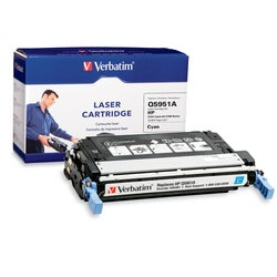 Verbatim Cyan Toner Cartridge For HP LaserJet 4700 Series Printers