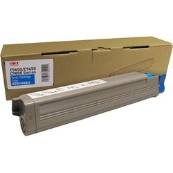 Oki TYPE C7 Cyan Toner Cartridge For C9650 Printer