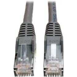 Tripp Lite 50ft Cat6 Gigabit Snagless Molded Patch Cable RJ45 M/M Gra