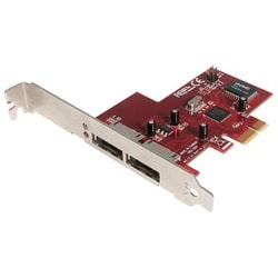 StarTech.com 2 Port PCI Express eSATA Controller Adapter Card