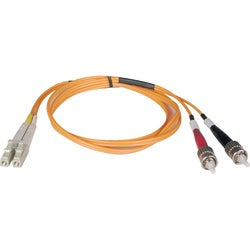 Tripp Lite 7M Duplex Multimode 62.5/125 Fiber Optic Patch Cable LC/ST