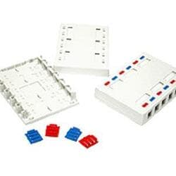 Cables To Go 12-Port Keystone Jack Surface Mounting Box