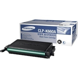 Samsung Black CLP-K660A Laser Toner Cartridge