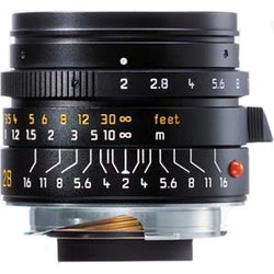 Leica Summicron M 28mm f/2.0 Lens 6 Bit Manual Focus