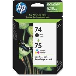 HP No.74/75 Black/ Tri-color Ink Cartridge