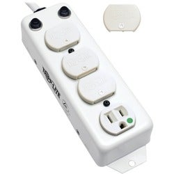 Tripp Lite Power Strip Hospital Medical 120V 4 Outlet UL1363A 15' Cor
