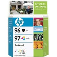HP No. 96 / 97 Black and Tri-color Ink Cartridges Combo Pack