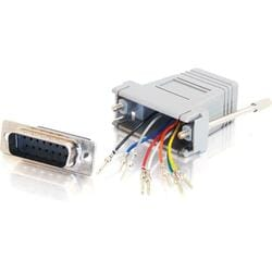 Cables To Go RJ-45/DB-15 Modular Adapter