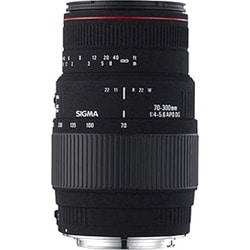 Sigma 70-300mm F4-5.6 DG Macro Sony Camera Lens