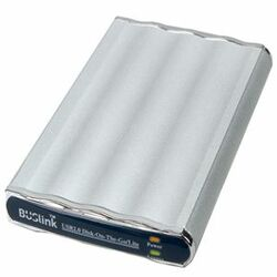 "Buslink Disk-On-The-Go DL-250-U2 250 GB 2.5"" External Hard Drive"