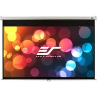 Elite Screens Manual Pull-down Projection Screen