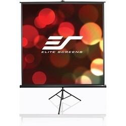 Elite Screens T100UWH Tripod Portable Tripod Manual Pull Up Projectio