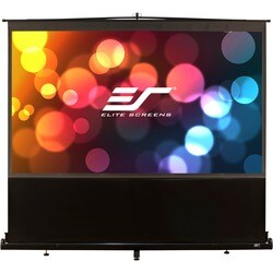 Elite Screens F120NWH ezCinema Portable Floor Set Manual Projection S
