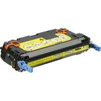 V7 Yellow Toner Cartridge For HP Color LaserJet 3600 Printer