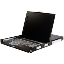 StarTech.com 1U 17 Rackmount LCD Console with 16 Port IP KVM