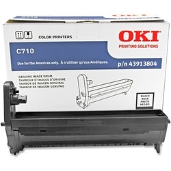 Oki Black Image Drum For C710 Series Printers