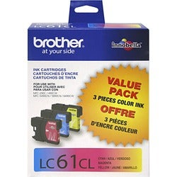 Brother Color Ink Cartridges For MFC-6490CW Printer