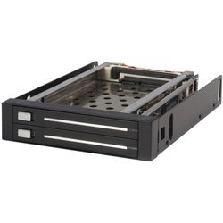 StarTech.com 2 Drive 2.5in Trayless Hot Swap SATA Mobile Rack Backpla