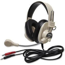 Deluxe Multimedia Stereo Wired Headset 3.5Mm Plug Via Ergoguys