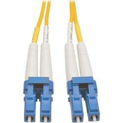 Tripp Lite 50M Duplex Singlemode 8.3/125 Fiber Optic Patch Cable LC/L
