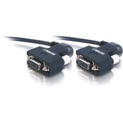 C2G 50ft Serial270 DB9 F/F Null Modem Cable