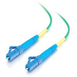 C2G-10m LC-LC 9/125 OS1 Simplex Singlemode Fiber Optic Cable (Plenum-