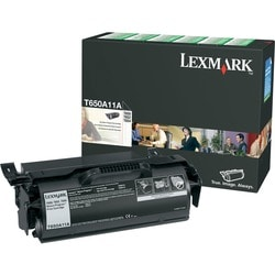 Lexmark Return Program Black Toner Cartridge For T650, T652 and T654