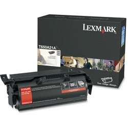 Lexmark Black Toner Cartridge for T650, T652 and T654 Printers