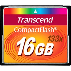 Transcend 16GB CompactFlash (CF) Card - 133x