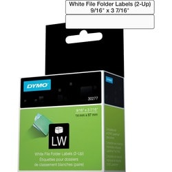 Dymo Filing Labels