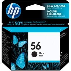 HP No. 56 Black Ink Cartridge for OfficeJet Printers