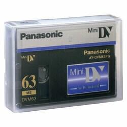 Panasonic AY-DVM63PQ MiniDV Cassette