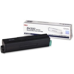Oki Black Toner Cartridge - 7000 Page - Black - Package: 1