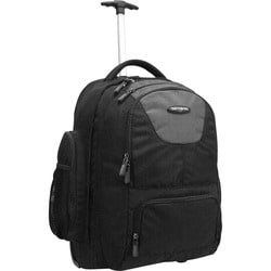 "Samsonite Carrying Case (Backpack) for 17"" Notebook - Black"