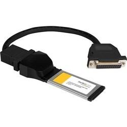 StarTech.com 1 Port ExpressCard Laptop Parallel Adapter Card - SPP/EP