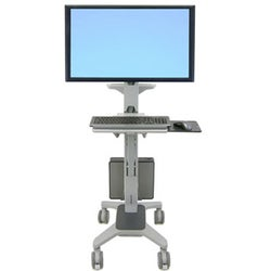 Ergotron Neo-Flex Wide View WorkSpace Computer Cart