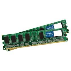 AddOn JEDEC Standard 4GB (2x2GB) DDR3-1066MHz Unbuffered Dual Rank 1.