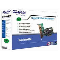 HighPoint RocketRAID 2314 4-port Serial ATA RAID Controller