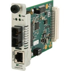 Transition Networks 100Base-TX to 100Base-FX Media Converter
