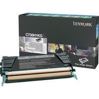 Lexmark Black High Yield Return Program Toner Cartridge (Pack of 1)