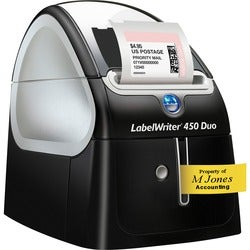 Dymo LabelWriter 450 Duo Direct Thermal Printer - Monochrome - Label