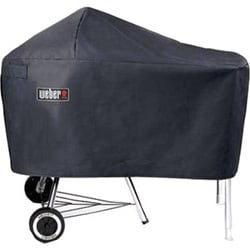 Weber Charcoal Grill with Work Table Cover