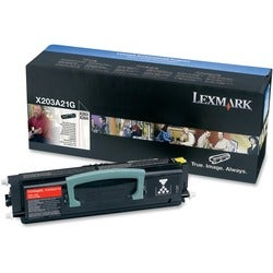 Lexmark Black Toner Cartridge for X203n/X204n Printers