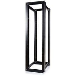 StarTech.com 45U 4 Post Open Frame Server Equipment Rack